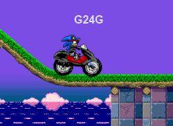 Sonic-Ninja-Motobike